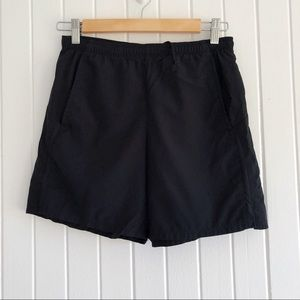 Women's black Nike fit athletic shorts